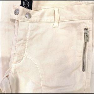 ALEXANDER MCQUEEN Skinny Zipper Detailed JeansSz29